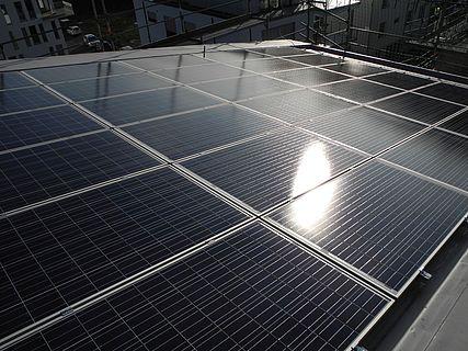 Solaranlage und Photovoltaik vom Dachdecker.