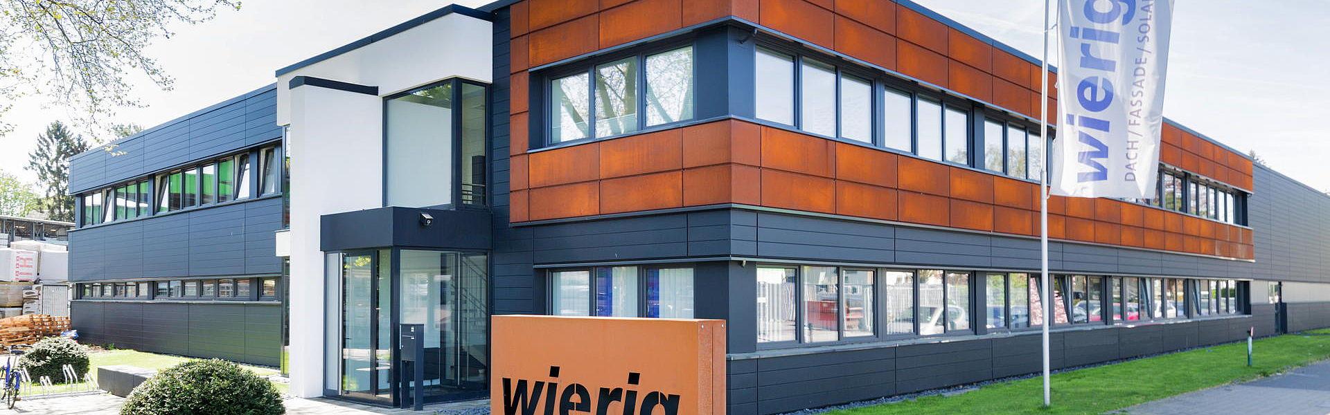 Wierig GmbH Dach und Fassade, Zentrale.