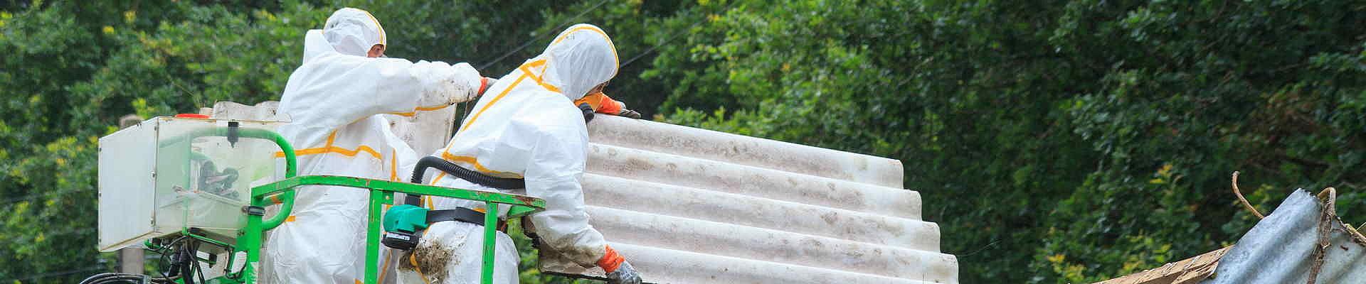 Asbestsanierung von Dach und Fassade