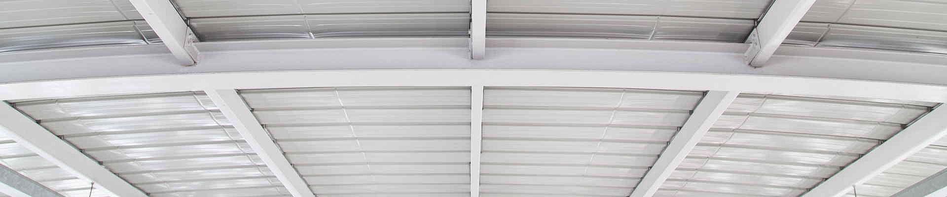 Das Stahltrapezdach zur Eindeckung von großen Dachflächen.