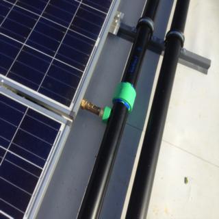 Photovoltaikanlage für einen Kindergarten.