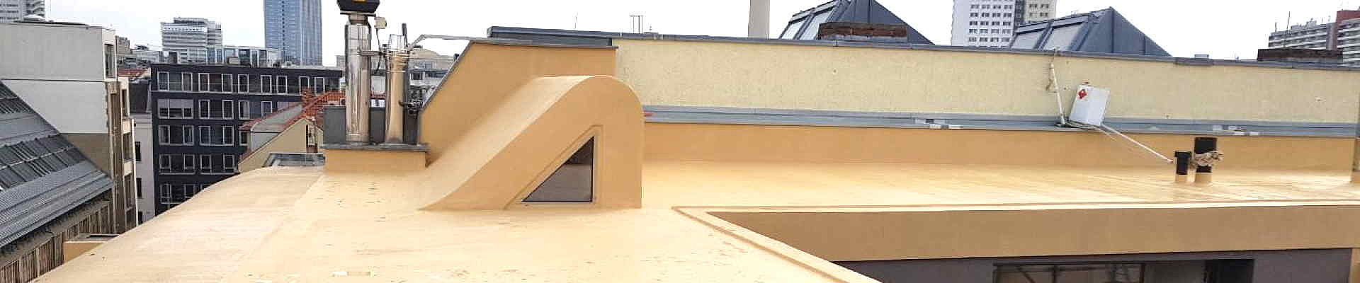 Flüssigkunststoffe zur Abdichtung von Flachdach und Parkhaus
