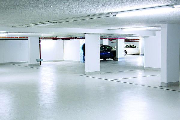 Flüssigkunststoffabdichtung für Tiefgarage und Parkhaus