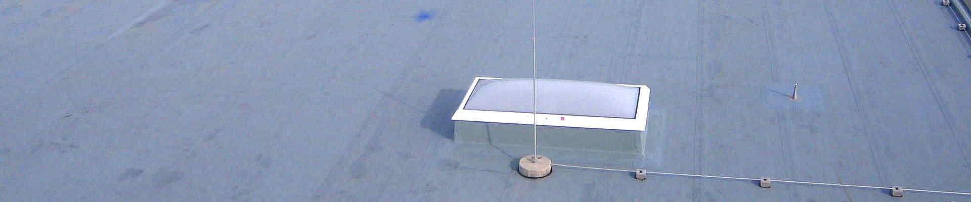 Lichtkuppeln sind Dachöffnungen für verschieden Zwecke