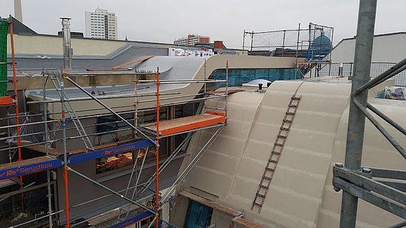Flüssigkunststoffabdichtungen bei Steildächern