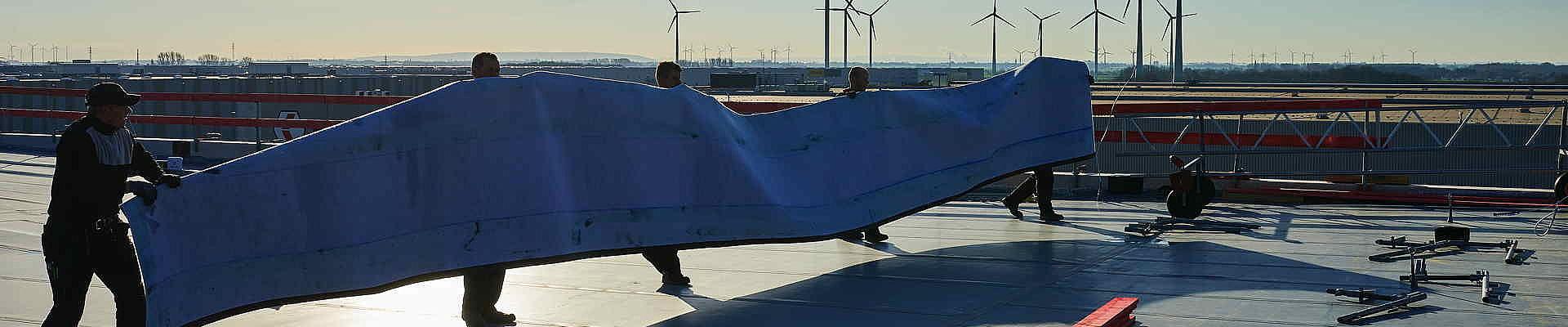 Eine Neueindichtung oder Dachabdichtung durch die Wierig GmbH wird in bester handwerklicher Qualität durchgeführt.