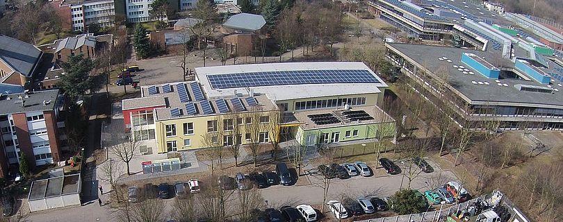 Solardach für Kindergarten und Kita.